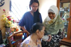 Home Based Caregiver Training   Maid Training for Elderly Singapore